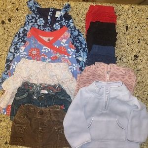 Other - BUNDLED baby girl clothes. Size 6-12 months
